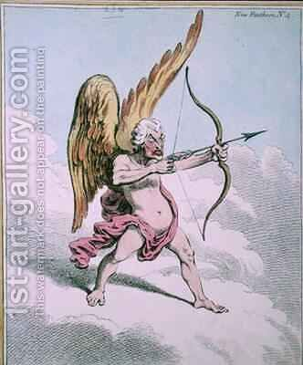 Cupid by James Gillray - Reproduction Oil Painting