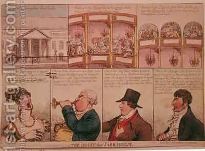 The House that Jack Built by James Gillray - Reproduction Oil Painting