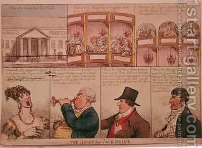 The House that Jack Built 2 by James Gillray - Reproduction Oil Painting