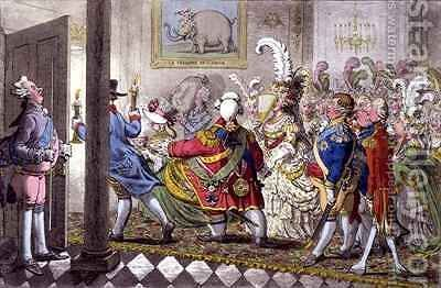 The Bridal Night by James Gillray - Reproduction Oil Painting