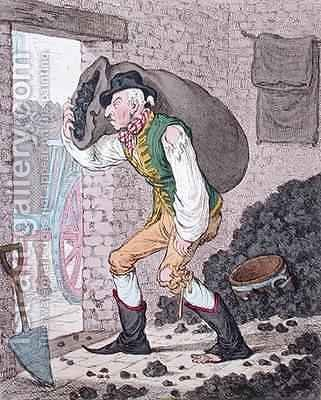 Georgey in the Coal Hole by James Gillray - Reproduction Oil Painting