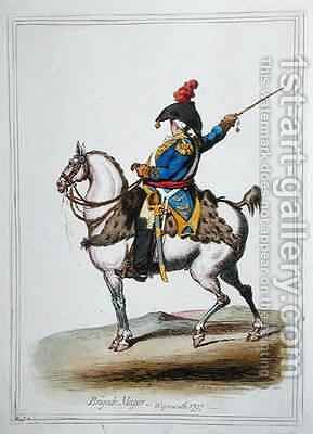 Brigade Major by James Gillray - Reproduction Oil Painting