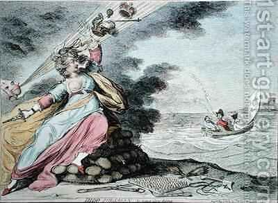 Dido Forsaken by James Gillray - Reproduction Oil Painting