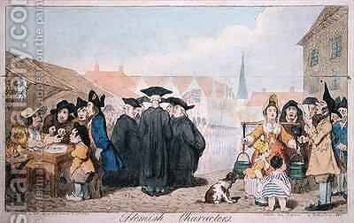 Flemish Characters 2 by James Gillray - Reproduction Oil Painting