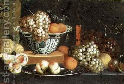 Still Life of Fruit by Jan Pauwel Gillemans The Elder - Reproduction Oil Painting
