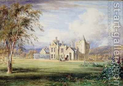 Balmoral Castle by James William Giles - Reproduction Oil Painting