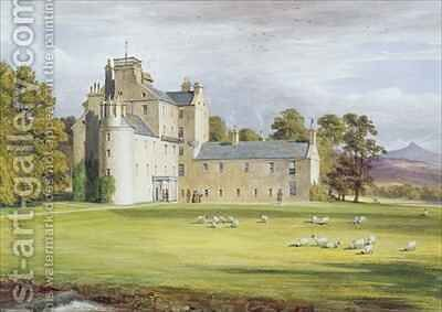 Monymusk House by James William Giles - Reproduction Oil Painting