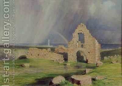 Upper Boddam Castle by James William Giles - Reproduction Oil Painting