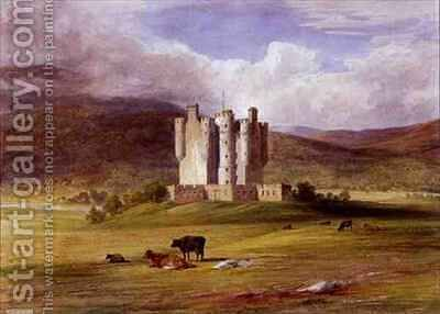 Braemar Castle by James William Giles - Reproduction Oil Painting