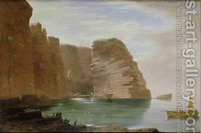 Island of Handa West Coast of Sutherland by James William Giles - Reproduction Oil Painting