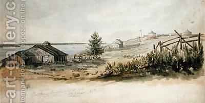 Fort Henry Kingston Ontario Canada by C.J. Gibson - Reproduction Oil Painting
