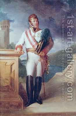 Charles Philippe 1771-1820 Prince of Schwartzenberg by Baron Francois Gerard - Reproduction Oil Painting