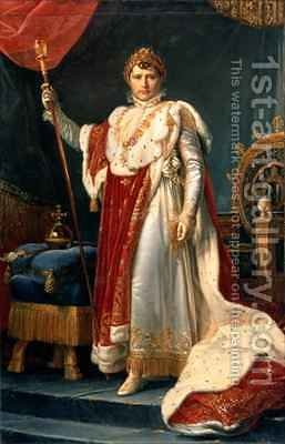 Napoleon Bonaparte 1769-1821 by Baron Francois Gerard - Reproduction Oil Painting