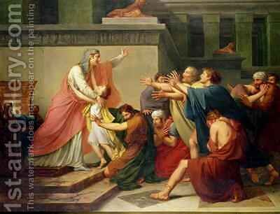 Joseph Recognised by his Brothers by Baron Francois Gerard - Reproduction Oil Painting