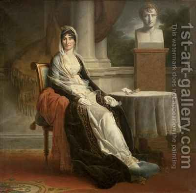 Marie Laetitia Ramolino 1750-1836 2 by Baron Francois Gerard - Reproduction Oil Painting