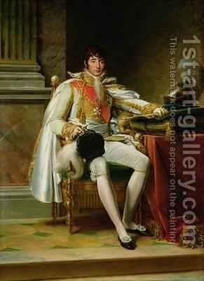 Louis Bonaparte 1778-1846 by Baron Francois Gerard - Reproduction Oil Painting