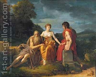 The Three Ages by Baron Francois Gerard - Reproduction Oil Painting