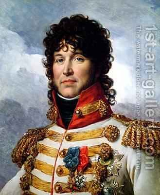 Joachim Murat 1767-1815 3 by Baron Francois Gerard - Reproduction Oil Painting
