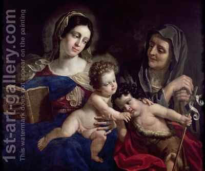 Madonna and Child by Benedetto the Elder Gennari - Reproduction Oil Painting