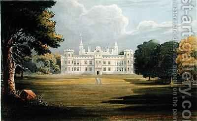 Mount Edgecumbe from Ackermanns Repository of Arts by (after) Gendall, John - Reproduction Oil Painting