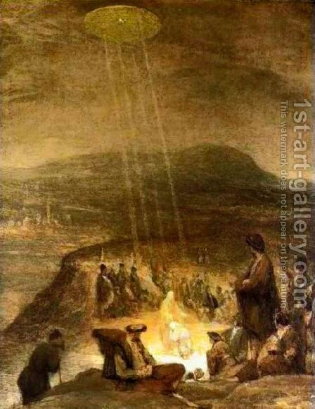 Baptism of Christ by Aert De Gelder - Reproduction Oil Painting