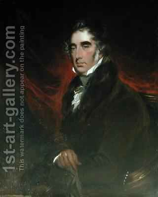 Sir William Mordaunt Sturt Milner 1779-1855 by Andrew Geddes - Reproduction Oil Painting