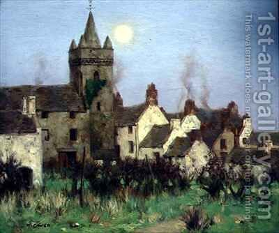 The Tolbooth Kircudbright by David Gauld - Reproduction Oil Painting