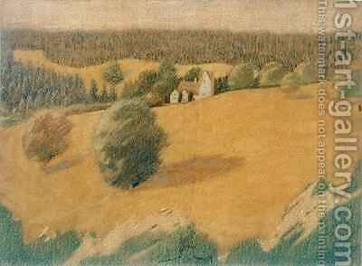 Daneway House by Arthur Joseph Gaskin - Reproduction Oil Painting