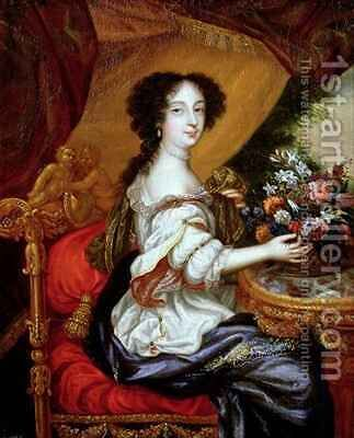 Portrait of Barbara Villiers Duchess of Cleveland by Henri Gascard - Reproduction Oil Painting