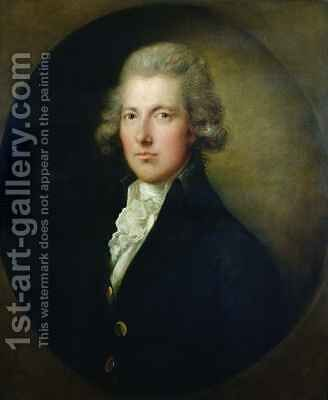 Portrait of William Pitt the Younger 1759-1806 2 by Dupont Gainsborough - Reproduction Oil Painting
