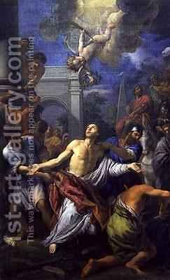The Martyrdom of St Lawrence by Anton Domenico Gabbiani - Reproduction Oil Painting