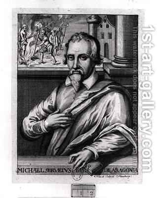 Michael Servetus 1511-53 by Christian Friedrich Fritzsch - Reproduction Oil Painting