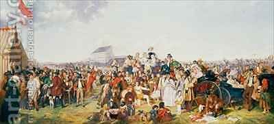 Derby Day 2 by (after) Frith, William Powell - Reproduction Oil Painting