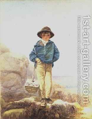 Young England  A Fisher Boy by Alfred Downing Fripp - Reproduction Oil Painting