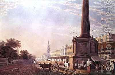 Writers Buildings Calcutta by (after) Fraser, James Baillie - Reproduction Oil Painting
