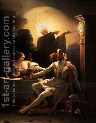 The Fatal Hour Fantastic Subject II by Alexandre Evariste Fragonard - Reproduction Oil Painting