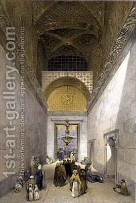 Haghia Sophia plate 1 principal entrance to the mosque by (after) Fossati, Gaspard - Reproduction Oil Painting
