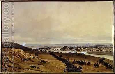 Battle of Montereau by Jean Antoine Simeon Fort - Reproduction Oil Painting