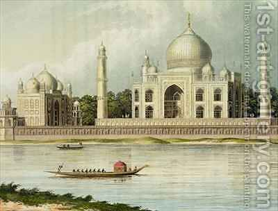 The Taj Mahal Tomb of the Emperor Shah Jehan and his Queen by (after) Forrest, Charles Ramus - Reproduction Oil Painting