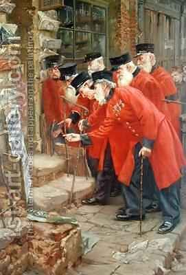 My Sons Regiment by Commendator Formilli - Reproduction Oil Painting