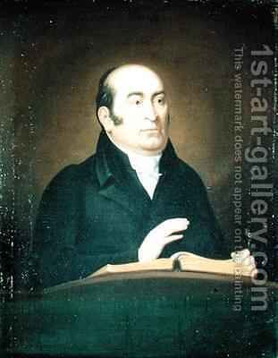 Robert Hall 1764-1831 by J. Flowers - Reproduction Oil Painting
