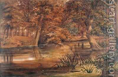 Back Water of the Bratford by Edward W. Fitch - Reproduction Oil Painting