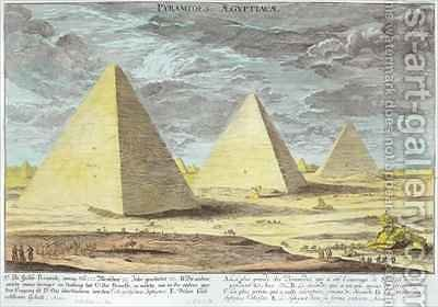 The Pyramids of Egypt 2 by (after) Fischer von Erlach, Johann Bernhard - Reproduction Oil Painting