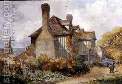 Rural Scene Kent by C.W. Fethergill - Reproduction Oil Painting