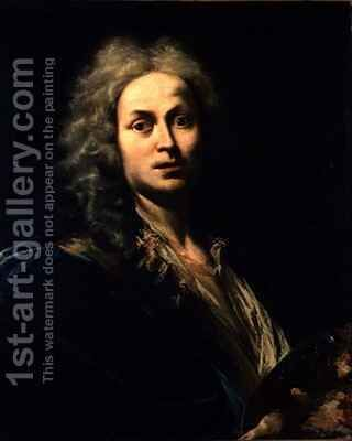 Self Portrait by Giovanni Domenico Ferretti - Reproduction Oil Painting