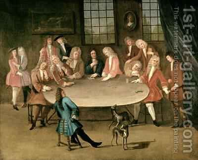 The Gamblers by Benjamin Ferrers - Reproduction Oil Painting