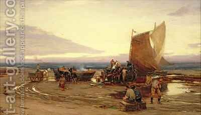 Fresh Herring by David Farquharson - Reproduction Oil Painting