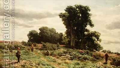 The Forest of Meiklour Perthshire by David Farquharson - Reproduction Oil Painting