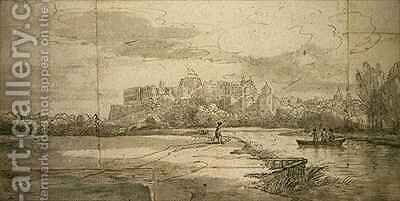 Windsor Castle by (after) Farington, Joseph - Reproduction Oil Painting