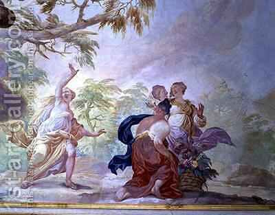 Mythological scene by Diacinto Fabbroni - Reproduction Oil Painting